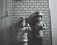 (bobby stokes) Tags: mamiya film home cyclists kodak helmet 400tx analogue 6x7 unionjack satsuki rb67 mamiyarb67 ibuki