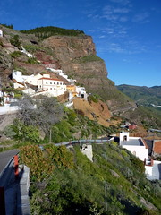Gran Canaria - Artenara in the winter ...