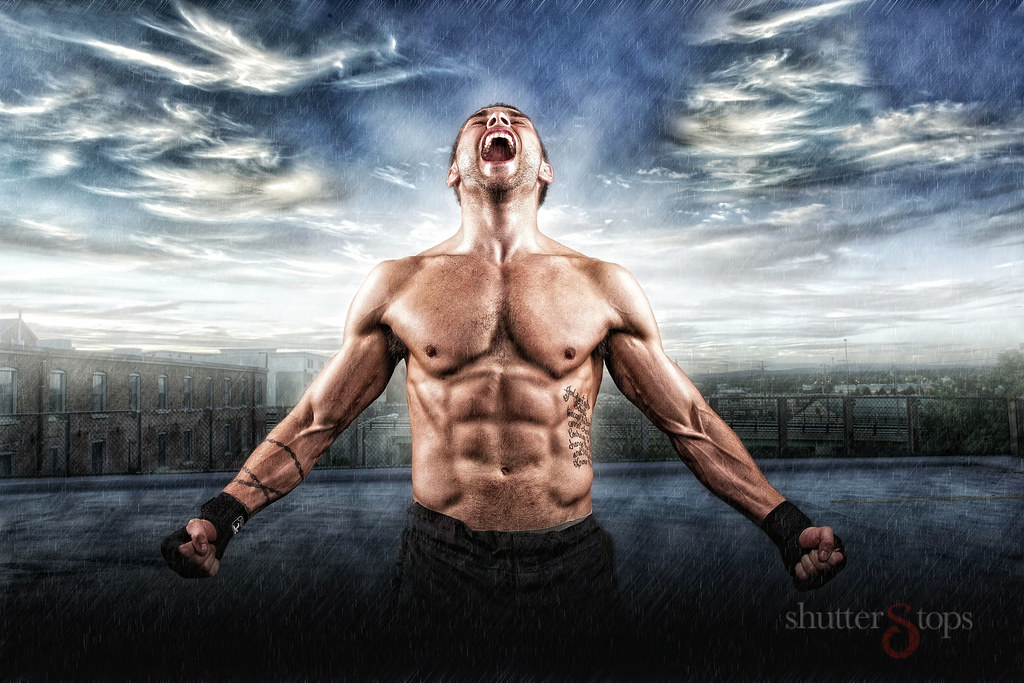 MMA Fighter: Scream