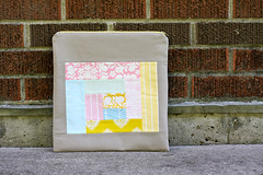 Zipper Pouch (Jeni Baker | In Color Order) Tags: bag handmade sewing quilting finished bags projects crafting