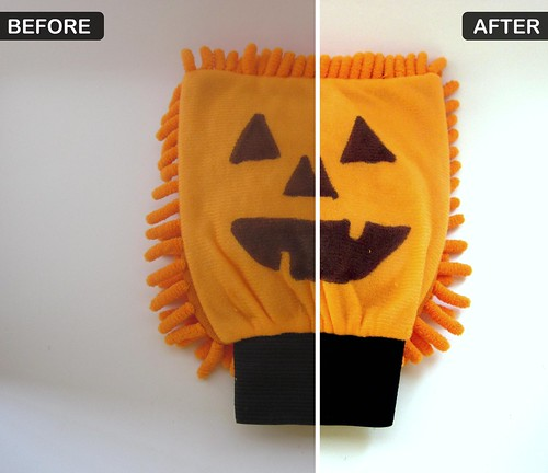 Pumpkin Puppets Before and After