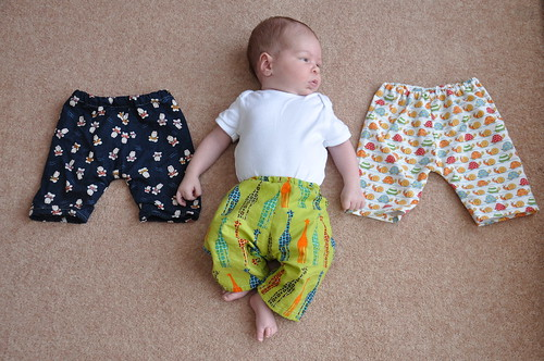 Made by Rae newborn pants