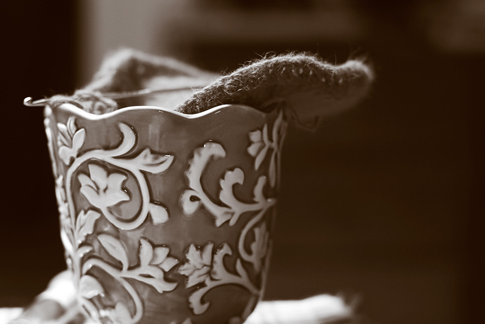 Sepia 28/30:  Make-Do Yarn Bowl