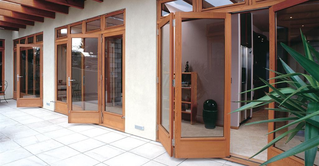 TranDucHomes folding wooden door cua go gap 11