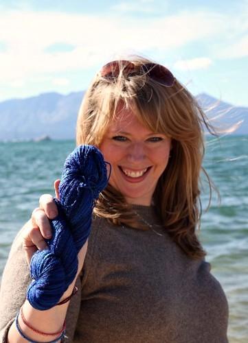 Socktoberfest - Lake Tahoe + Yarn