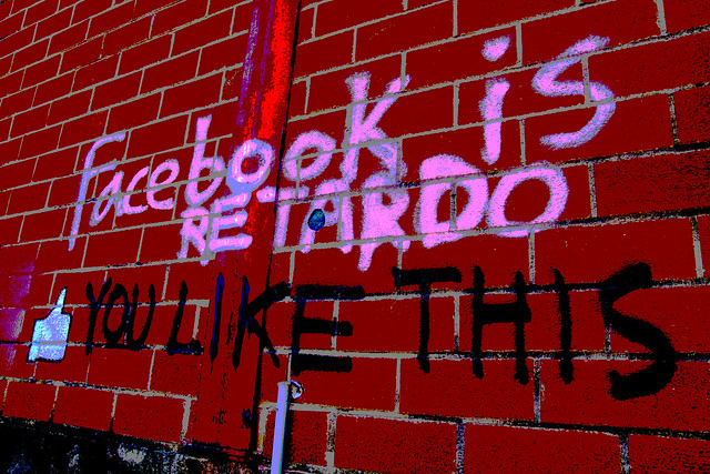 Facebook Is Retardo Posterized