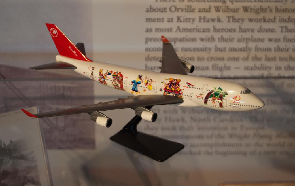 Northwest Airlines WorldPlane (scale model)