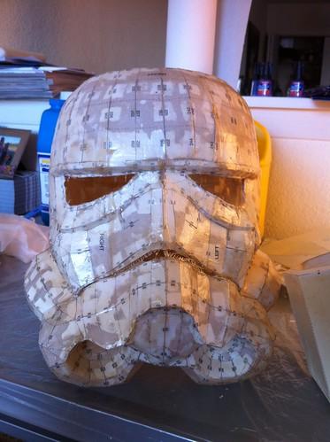 Trimmed Helmet - Front