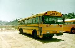 Laidlaw 13422 (crown426) Tags: thomas tandem schoolbus delmar califronia laidlaw delmarfair delmarracetrack westcoaster safetliner