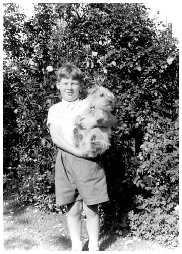 [39/52] Small Footless Child with Dog