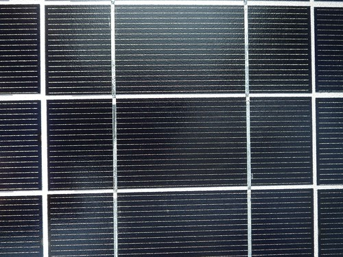 Single solar cell.