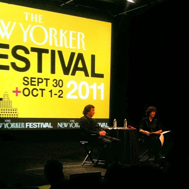 Shigeru Ban at the New Yorker Festival #tnyfest