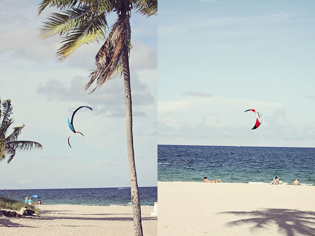 Fort Lauderdale beach diptych 4