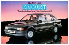 1986 Ford Escort Ghia (U.K.)