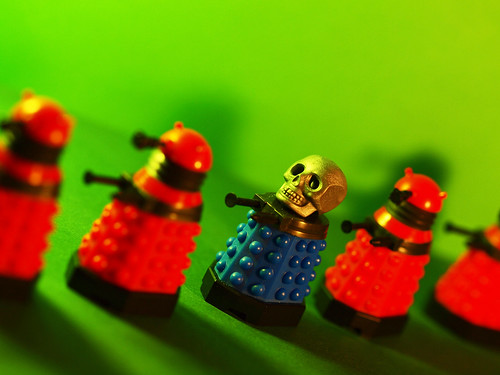 daring dalek debuts day of the dead dome decoration by Johnson Cameraface