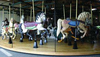 Carousel at Davis Mercantile, Shipshewana, IN