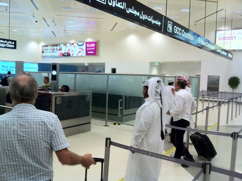 Immigration in Doha, Qatar