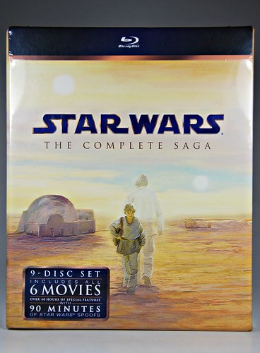 Star Wars: Complete Saga Blu-ray