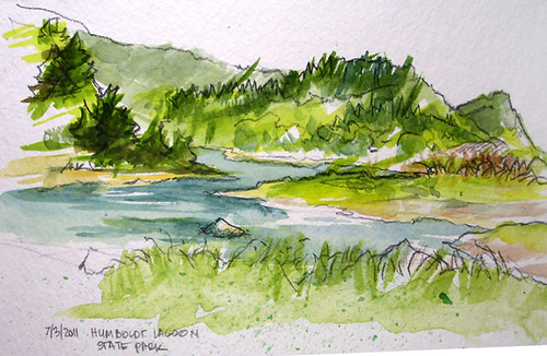 Humboldt Lagoon St Pk sketch