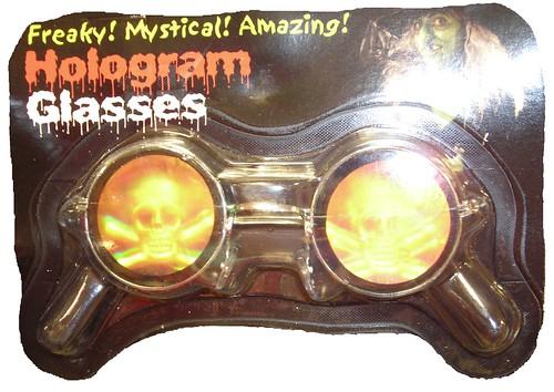 Halloween Skull glasses