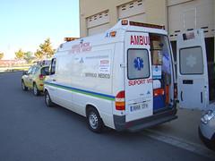 Ambulancia para Tindouf