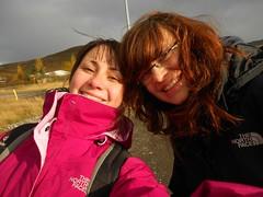 Caro und ich in Reykjadalur