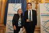 Muriel Charbonnier, directrice Agence comptes – Gouvernement et institutions d'Orange Business Services, Bernard Benhamou, délégué général aux usages de l'Internet