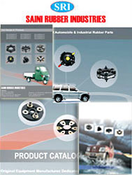 Catalog for manufacturer of rubber parts for automobiles