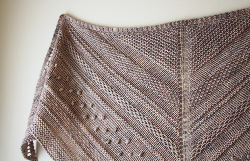 New shawl design:  it's about time!