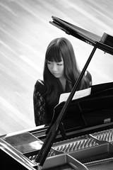 Classical keys (Renee Fowler) Tags: music white black girl beautiful beauty keys perfect key pretty artist piano grand