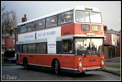 The End Commeth. (Zippy's Revenge) Tags: bus first standard leyland fleetline horwich lut greatermanchester firstbus firstgroup 4963 firstmanchester gmbuses northerncounties gmn lancashireunited ncme gmbusesnorth fe30 fe30agr bcb616v leverparkavenue