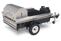 Towable Tailgate Grill/BBQ