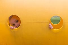 Peek-A-Boo Porthole (Craig Dyni) Tags: park girl playground toddler madelyn alannah patriarchepark dyni