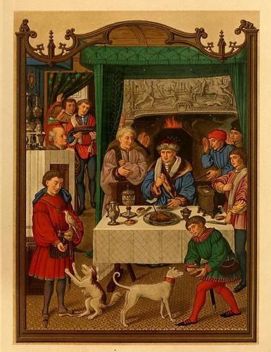002-Santoral de Enero-Lamina 1-Les évangiles des dimanches et fêtes de l'année –Vol 1- 1864- Leon Curmer