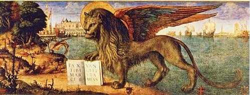 10.19ヴェネツィア展パンフレット「サン・マルコのライオン」 by Poran111