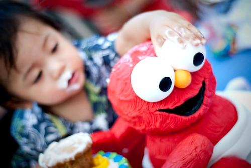 Messy Elmo