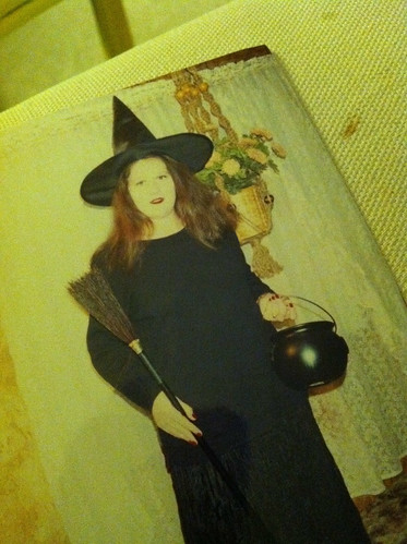Halloween Past - witch