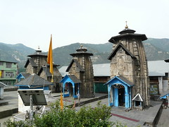View of the Lakshmi Narayan temple complex