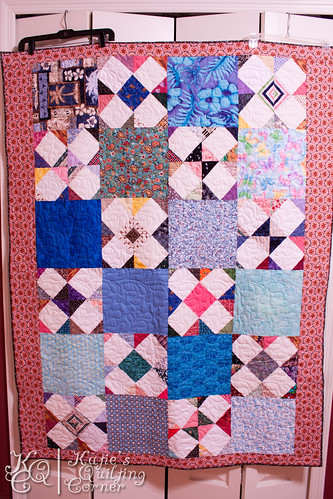 Finished Quilt - Hot Mess