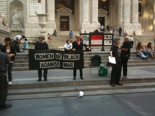 Women in Black Against War, NYPL