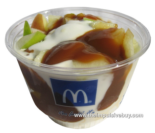 REVIEW: McDonald's Caramel Apple Sundae and Caramel Apple Parfait ...