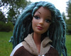 114 (Alrunia) Tags: dreadlocks outdoors doll handmade ooak barbie yarn mohair dreads fashiondoll mattel reroot rebody fashionfever 16thscale playscale makeupchic yarnreroot barbiedreadlocks
