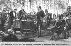 The American Magazine 1881 and Benjamin Disraeli - illustration  - 8
