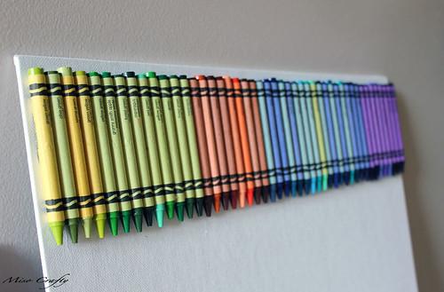Crayon Canvas Melt - Munchkin - Premelt