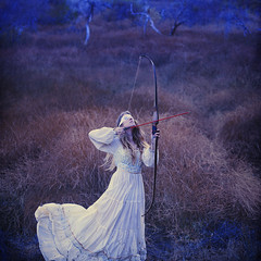 air and arrows (brookeshaden) Tags: field shoot wind air earlymorning eerie it arrows archery bowandarrow fineartphotography blindfolded brookeshaden texturebylesbrumes