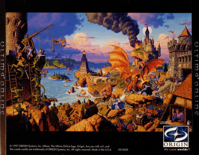 Ultima Online: Charter Edition: CD Insert Back