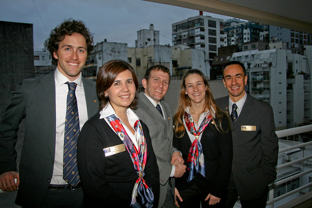 Vocational Training team from Argentina