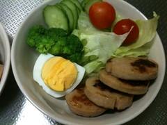 朝食サラダ(2011/9/19)