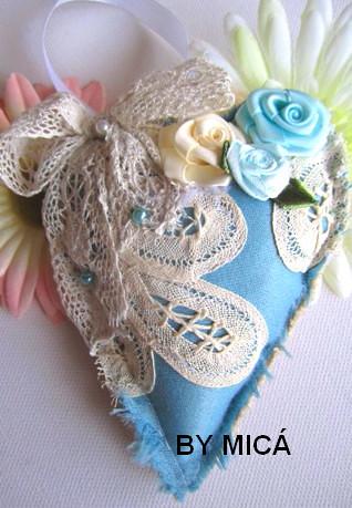 sachê azul -  ind. by kuskando