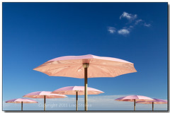 Six Umbrellas (Lisa-S) Tags: pink toronto ontario canada lisas umbrellas invited sugarbeach 50d 4006 corusquay copyright2011lisastokes getty2011 getty20110920